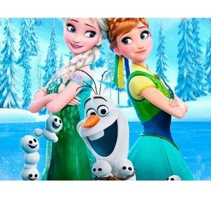 Disney Frozen Diamond Painting Kit Elsa Anna Olaf